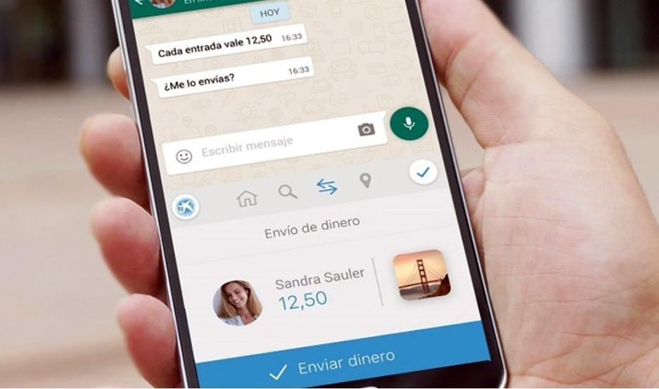Ya se puede transferir criptomonedas a través de WhatsApp