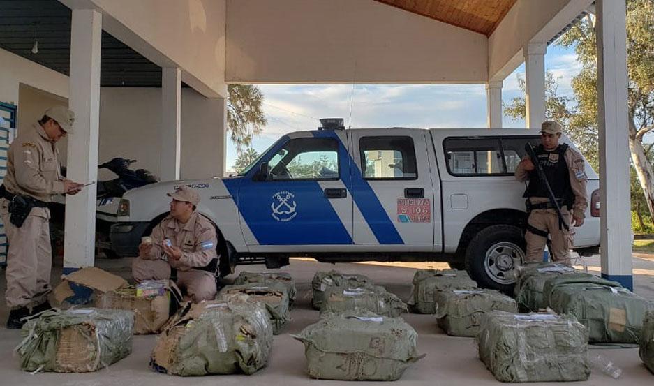 Prefectura secuestró mercadería ilegal valuada en más de $260 mil