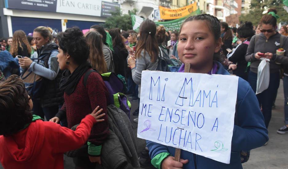 La marcha se replicó en varias provincias.
