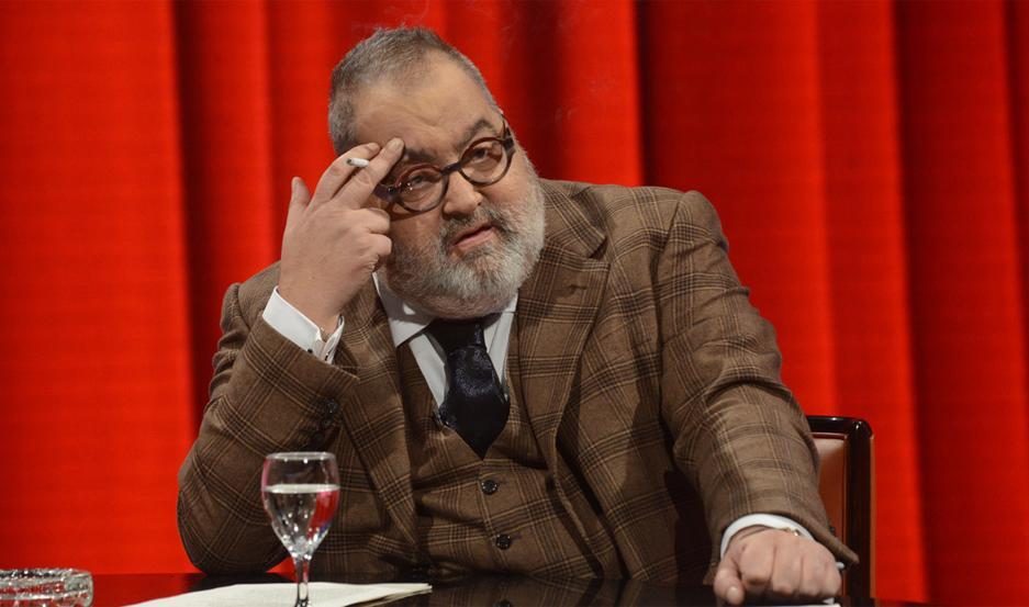 Jorge Lanata, en PPT, su programa de televisión en canal 13.