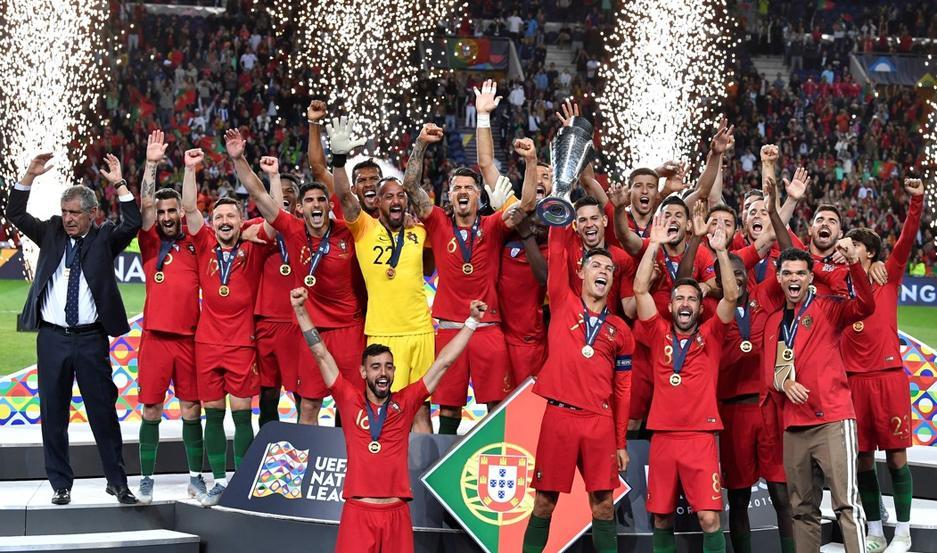 Portugal se quedó con la UEFA Nations League ante Holanda ...