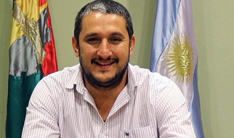 El intendente de Frías, Aníbal Padula.