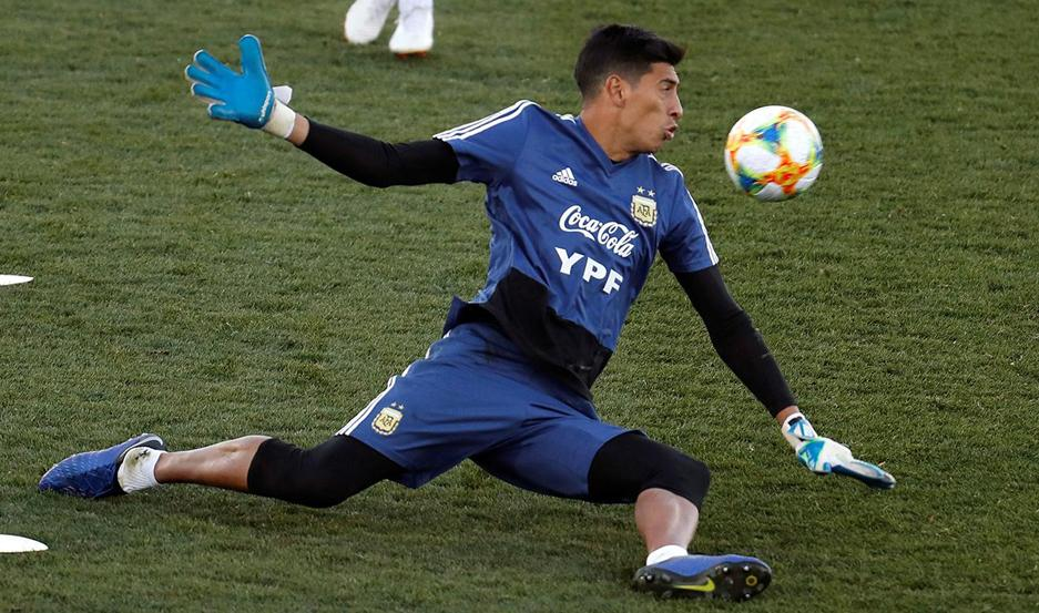 Andrada fue desafectado y no jugará la Copa América