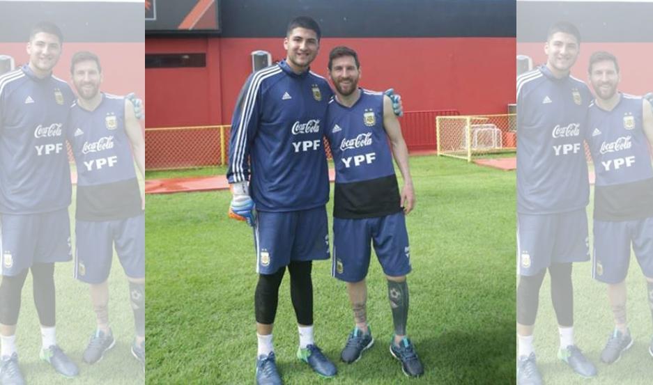 Franco Herrera, el santiagueño que entrena con Messi en Brasil