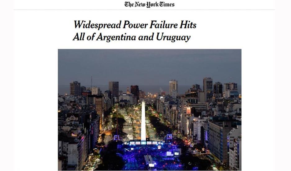 Noticia en The New York Times.