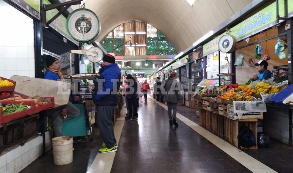 El Mercado Armonía abrió sus puertas de forma normal.