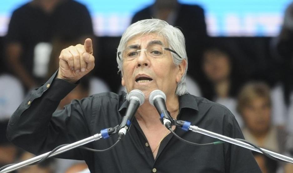 """Hugo Moyano: """"Todas las macanas que hicieron las van a pagar"""""""