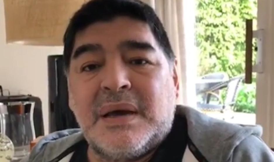Diego Maradona dijo que mienten los que afirman que él tiene Alzheimer