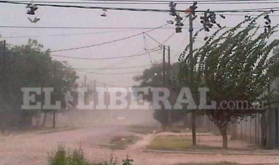 Santiago del Estero bajo alerta por vientos fuertes