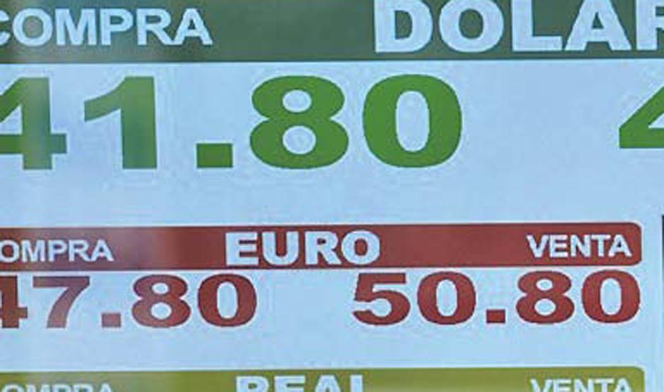El dólar sigue en baja: cerró a $ 43,50