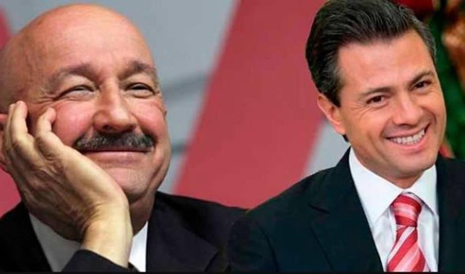 Salinas de Gortari y Peña Nieto, señalados por lavado de dinero en México. (Foto: Google)