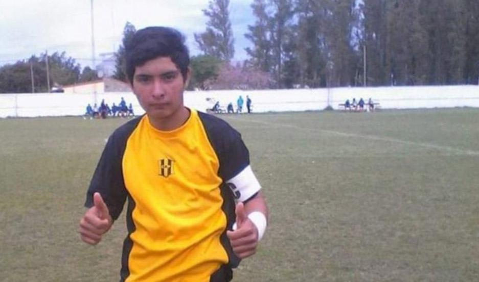 Ismael Coronel tenía 17 años.-