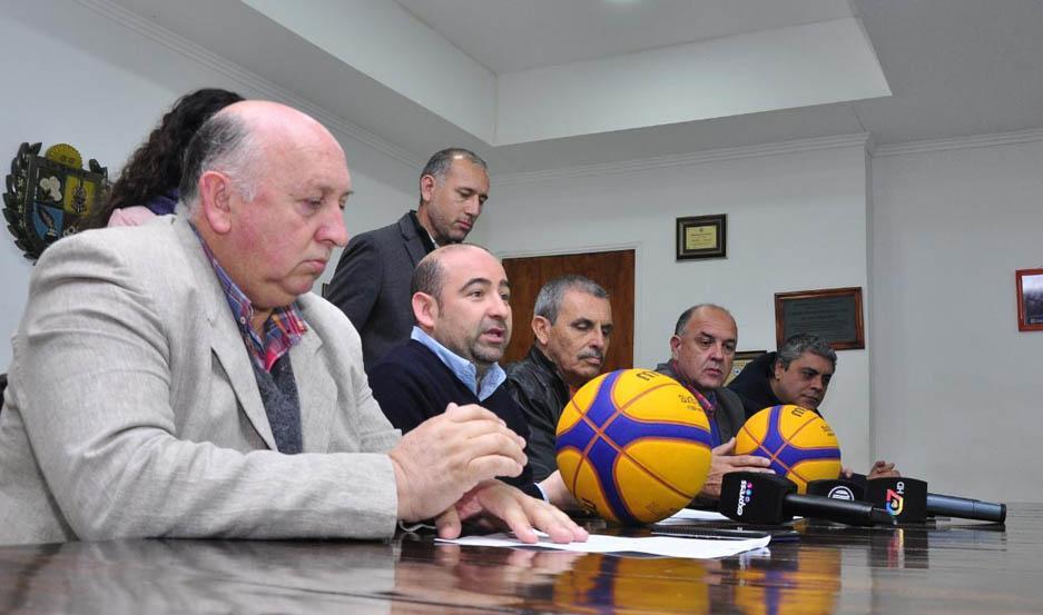 Se presentó en La Banda la Tercera Parada del 3x3 de la Liga Nacional