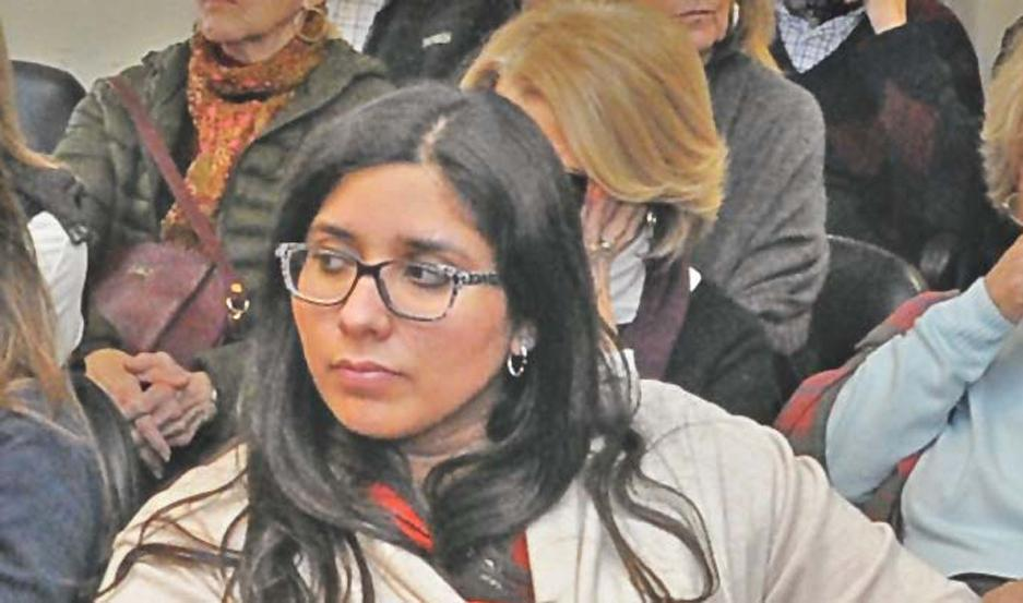 Silvina Paz pidió urgente la detención del individuo.