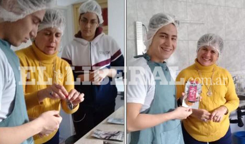 Alumnos del Colegio Mariano Moreno visitaron un laboratorio de verduras deshidratadas.