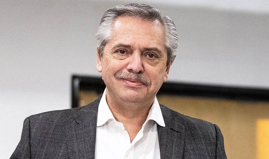 Alberto Fernández se reunió con Caserio