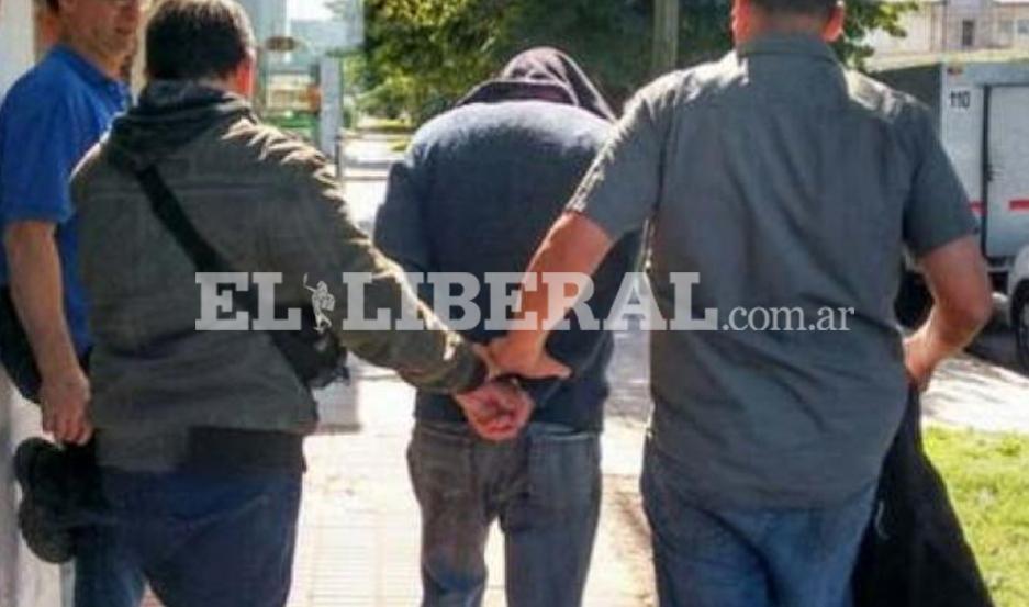 El detenido fue trasladado al Departamento de Seguridad Ciudadana Nº 6 de Las Termas.