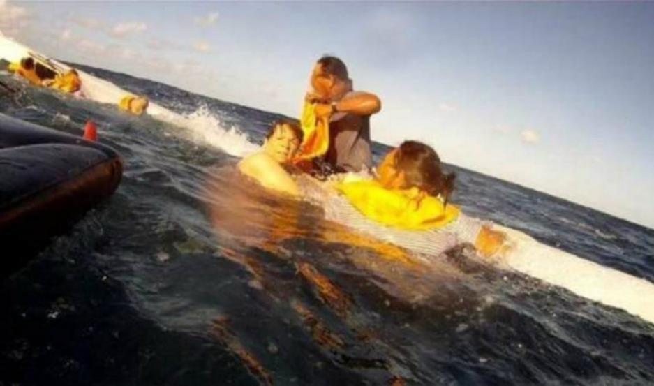 Dramático video: su avión cayó al mar y registró los últimos minutos