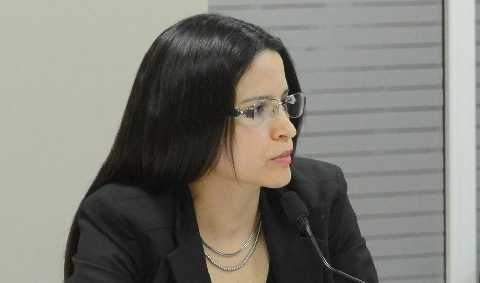 Dra. Andrea Juárez, fiscal de la causa