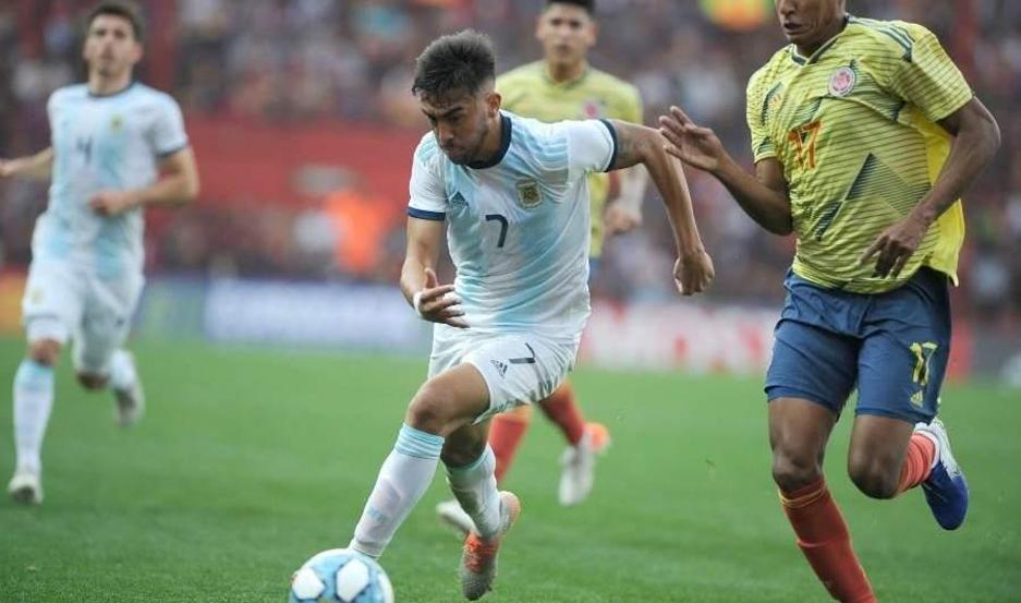 Selección Argentina Sub 23 venció a su par de Colombia