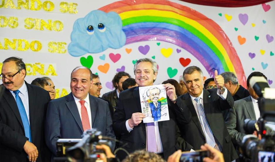 La llegada a Tucumán del candidato presidencial, Alberto Fernández, convocó a esa provincia a las máximas figuras del Justicialismo y de la CGT.