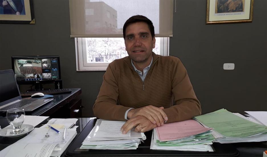 Jorge Mukdise, intendente de Las Termas