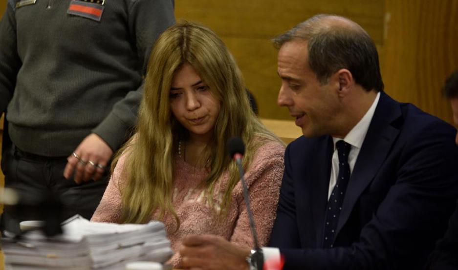 Brenda Barattini. La joven acusada. Foto: LaVoz