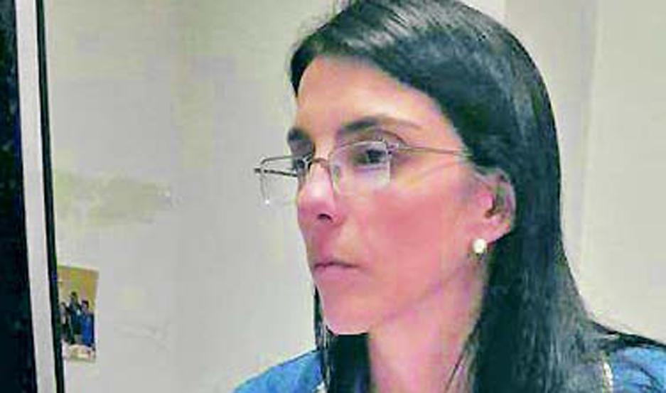 Intervino la Dra. Pilar Gallo.