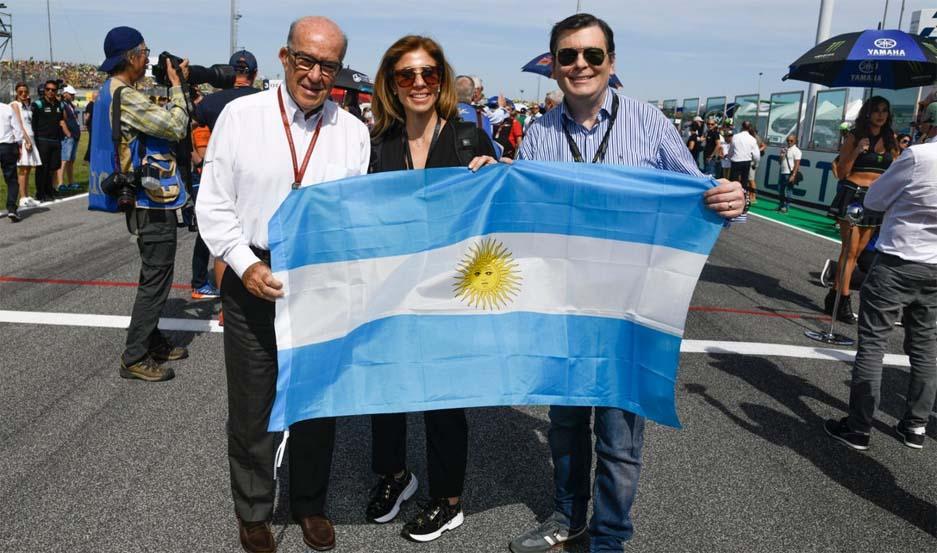 Zamora estuvo en San Marino y confirmó la fecha del GP de Las Termas