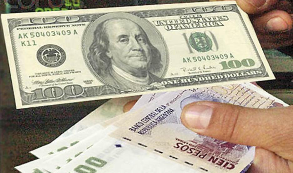El retroceso se dio como consecuencia de ventas en contado de bancos oficiales e intervenciones en los mercados de futuros por parte del BCRA.