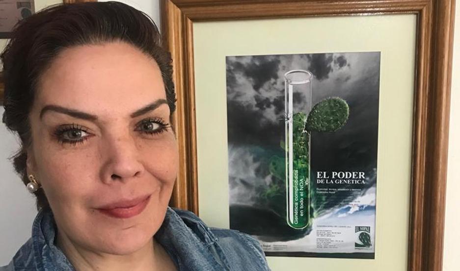 Consuelo Rodríguez, propietaria del establecimiento El Nopal del Carmen.