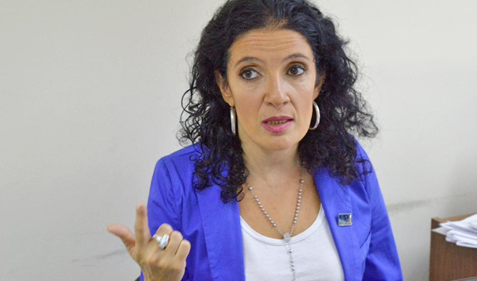 La fiscal Norma Matach interviene en la causa