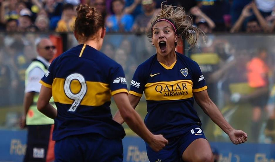 Boca y River, en el primer Superclásico de la liga femenina