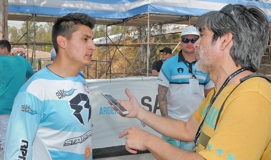 """""""Chalo"""" Molina dijo que todavía """"no cae"""" por todo lo que logró y que ahora quiere disfrutar de este momento."""