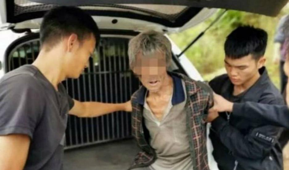 Song Jiang, capturado por la policía.