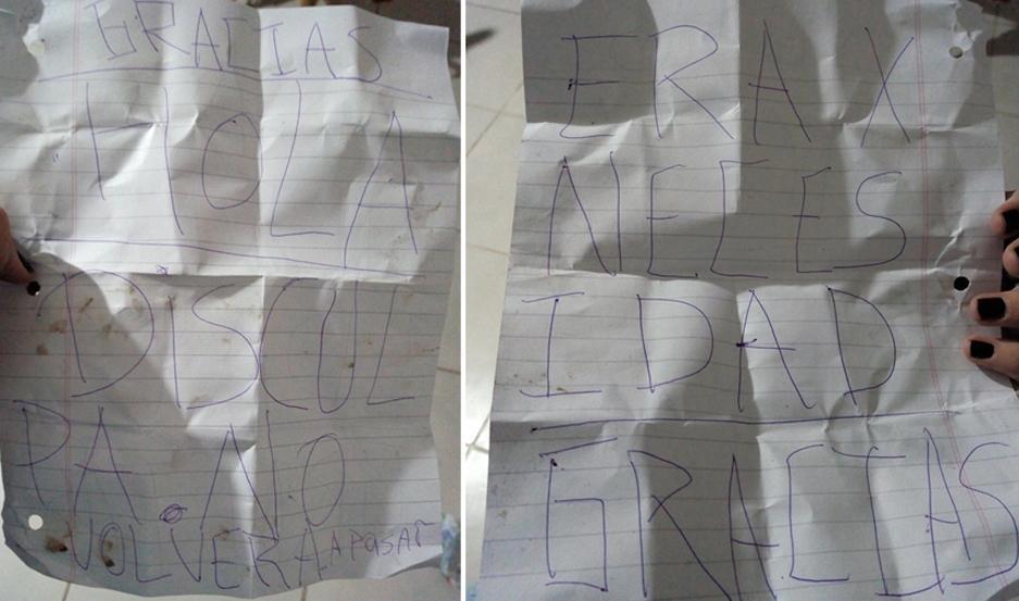 Robó una bicicleta, se arrepintió y pidió perdón por carta