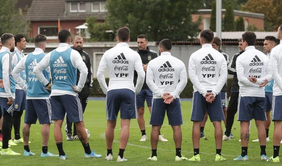 La selección se entrenó por última vez pensando en Alemania.