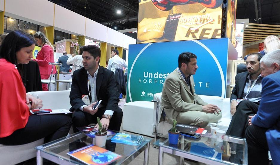 Junto con la Subsecretaría de Turismo participaron empresarios santiagueños del sector.