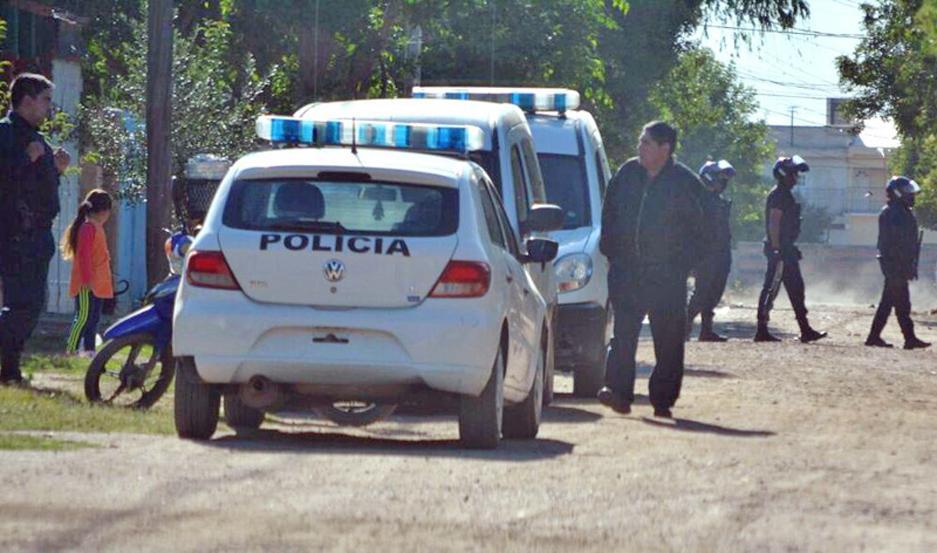 Los policías de la Seccional Nº 18 buscaron ayer en la zona, pero no los localizaron.