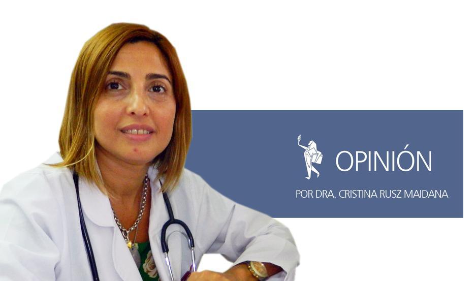 La Dra. Cristina Rusz Maidana.