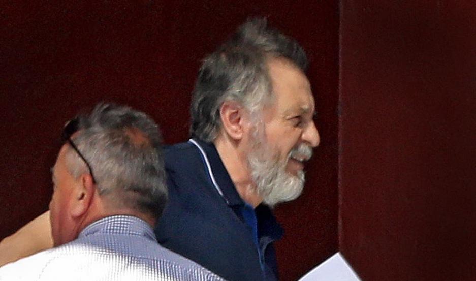 Cristóbal López, tras recuperar la libertad. Foto: La Nación