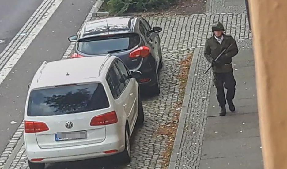 El violento ataque se produjo este miércoles en la ciudad de Halle, Alemania.