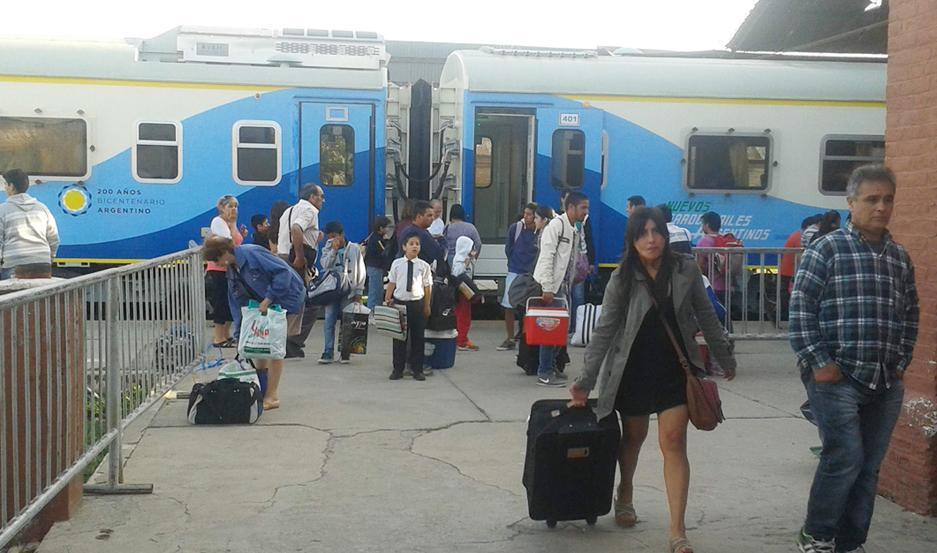 La grilla de Trenes Argentinos para la venta online, sólo ofrece pasajes a partir de noviembre.