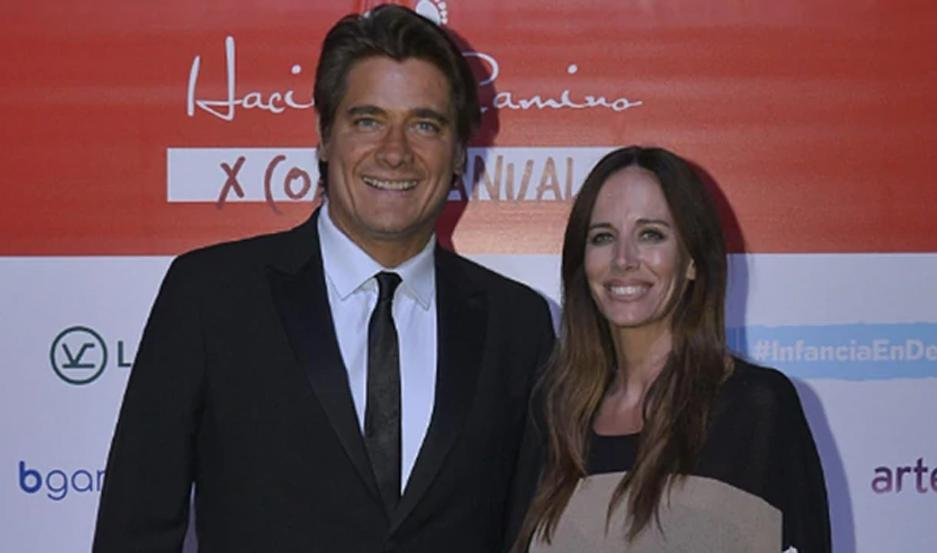 Guillermo Andino y Carolina Prat.