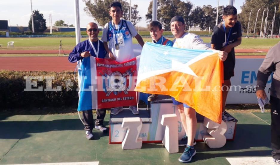 Los deportistas de Sacháyoj cumplieron una destacada actuación en Mar del Plata.