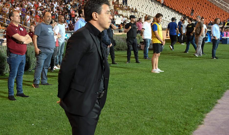 Gallardo le dio mucha importancia a la victoria de anoche frente a Almagro en Mendoza.