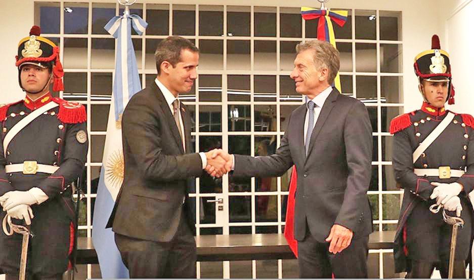Gobierno argentino reconoce como embajadora de Venezuela a la enviada de Guaidó