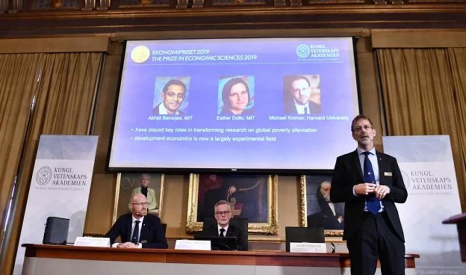 La Real Academia de las Ciencias de Suecia dio a conocer este lunes la premiación en Economía.