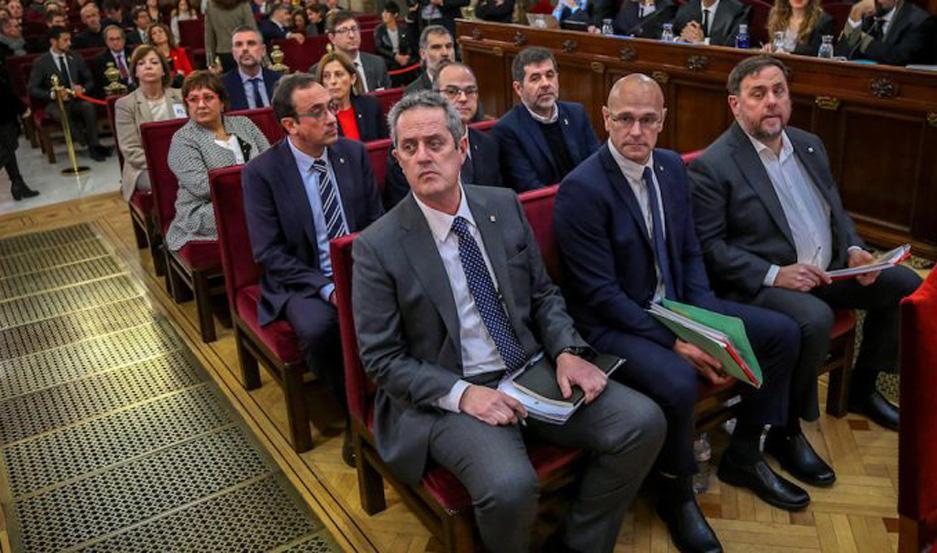 Las condenas recayeron sobre nueve de los líderes de la frustrada independencia de Cataluña.