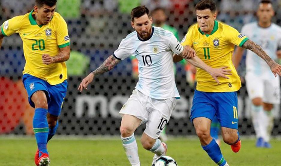 """Argentina, con """"Lio"""" Messi, volverá a jugar ante Brasil."""